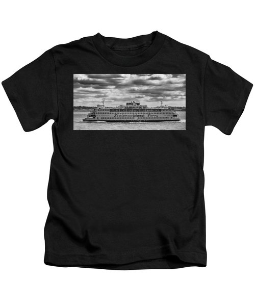 Staten Island Ferry 10484 Kids T-Shirt