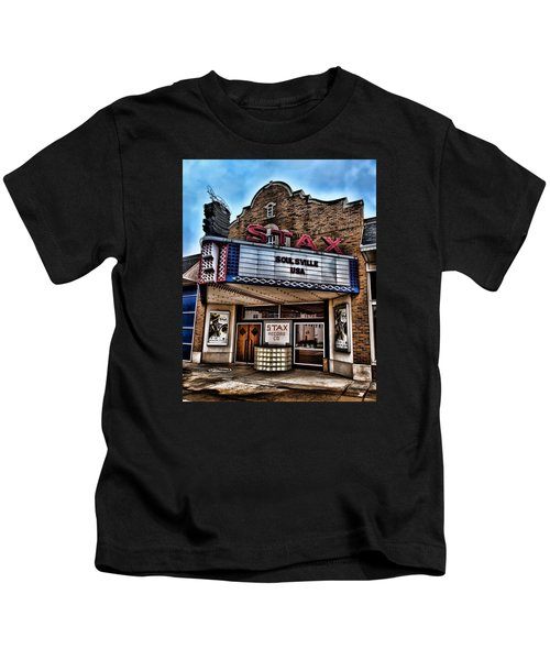 Stax Records Kids T-Shirt by Stephen Stookey