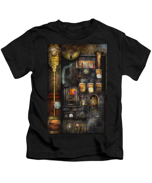 Steampunk - All That For A Cup Of Coffee Kids T-Shirt