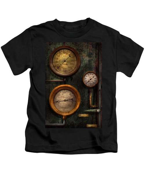 Steampunk - Plumbing - Gauging Success Kids T-Shirt