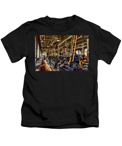 Steampunk - The Age Of Industry Kids T-Shirt