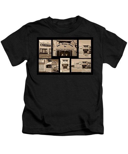 Stone Pony Montage Kids T-Shirt