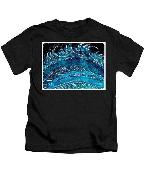Storms At Sea Kids T-Shirt
