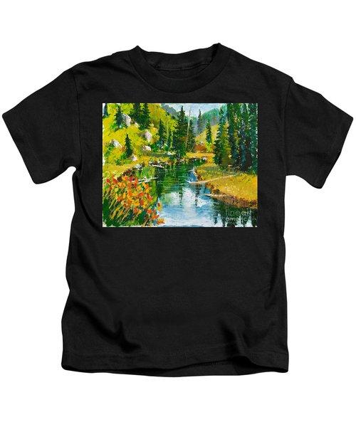 Strawberry Reservoir Kids T-Shirt