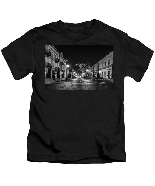 Streets Before Christmas Kids T-Shirt