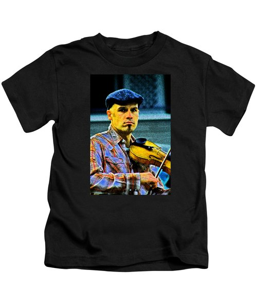 My String Instrument Kids T-Shirt