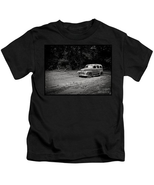 Stuck In The Mud Kids T-Shirt