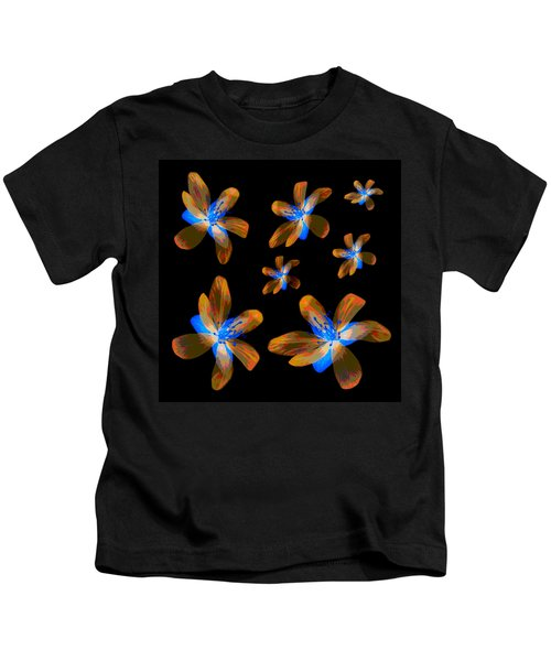 Study Of Seven Flowers #5 Kids T-Shirt