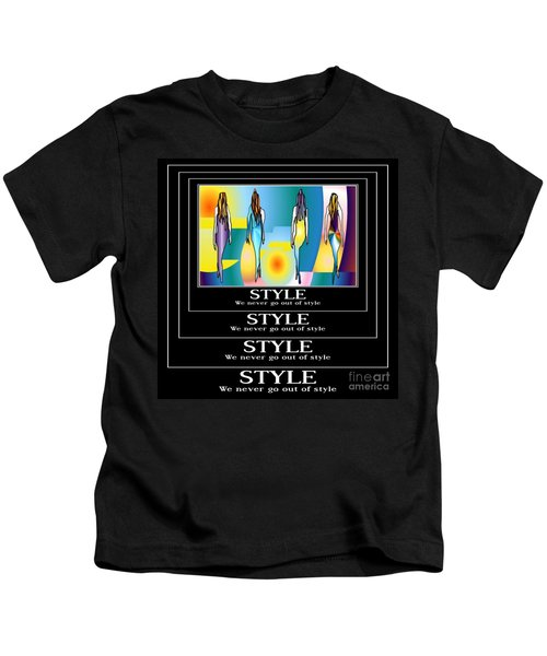 Style Kids T-Shirt by Kim Peto