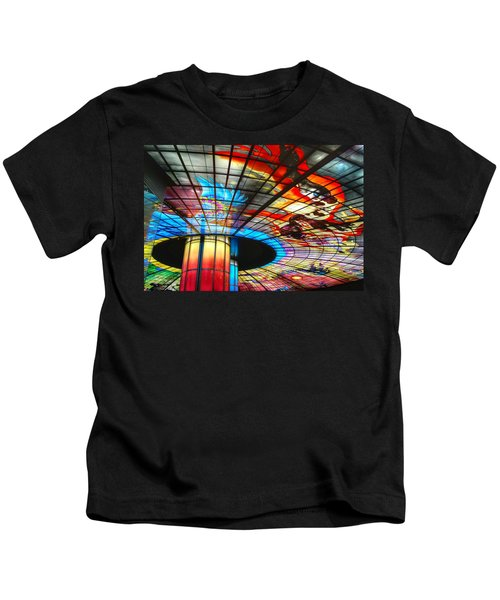 Subway Station Ceiling  Kids T-Shirt