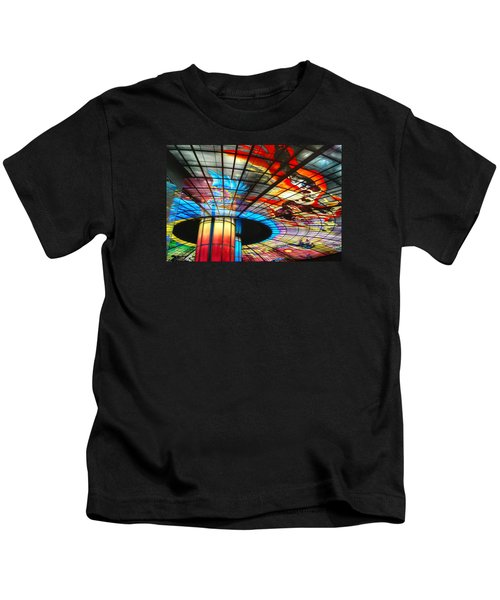 Subway Station Ceiling  Kids T-Shirt