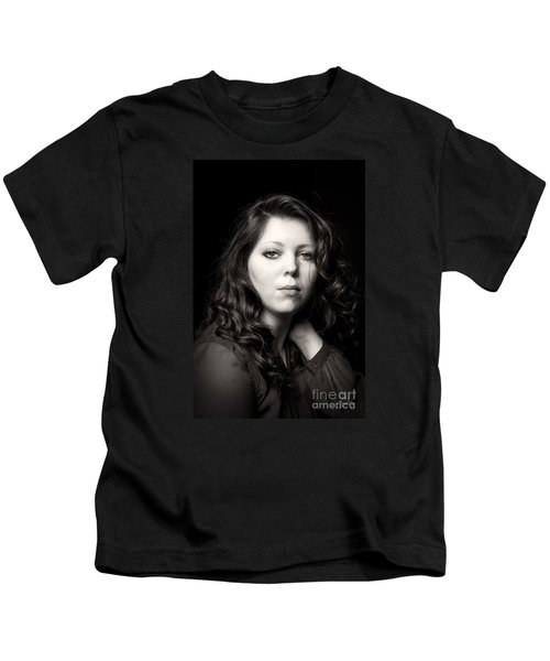 Sultry In Sepia Kids T-Shirt