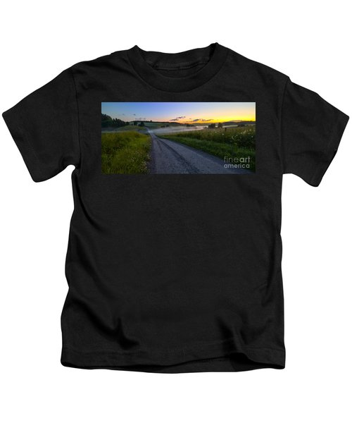 Summer Morning At 3.31 Kids T-Shirt