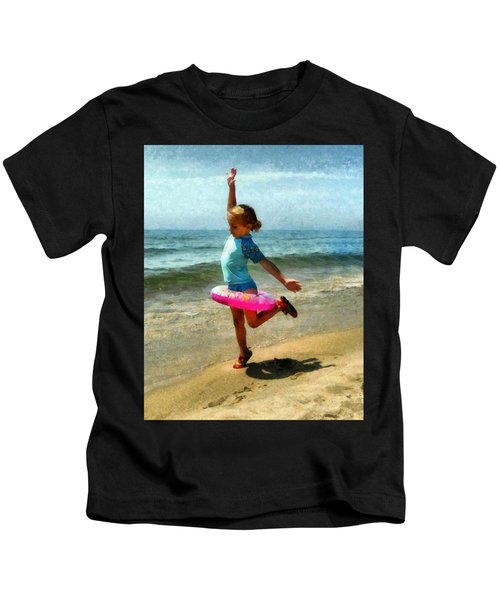 Summertime Girl Kids T-Shirt