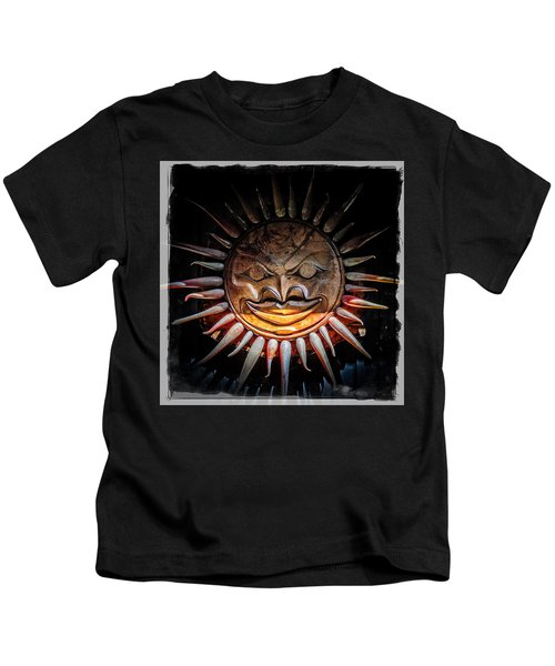 Sun Mask Kids T-Shirt