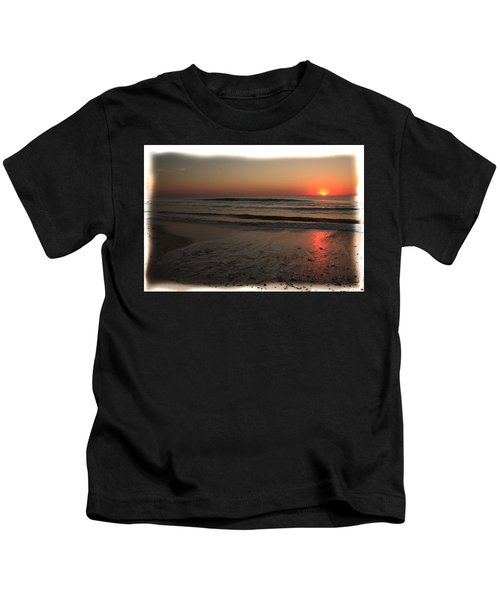 Sun Over The Ocean Kids T-Shirt