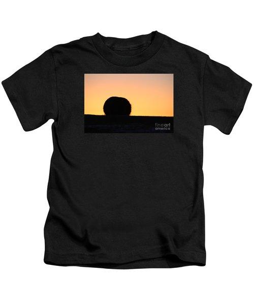Sun Rise Silhouette Kids T-Shirt