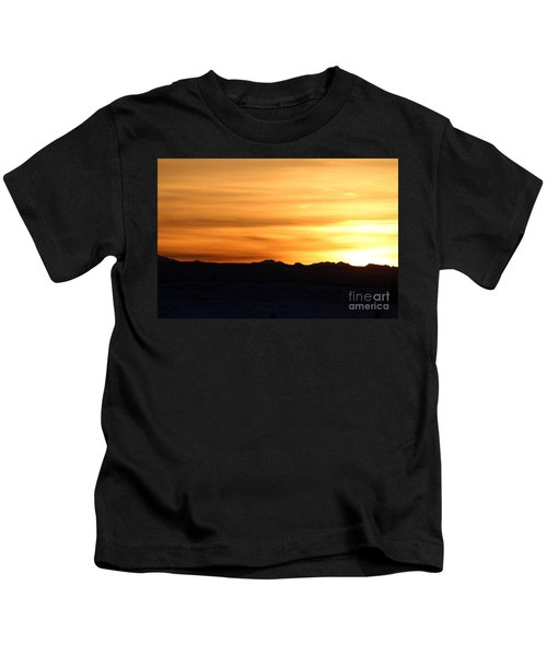 Sundre Sunset Kids T-Shirt