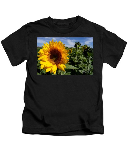 Sunflower Glow Kids T-Shirt