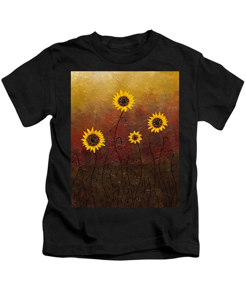 Sunflowers 3 Kids T-Shirt