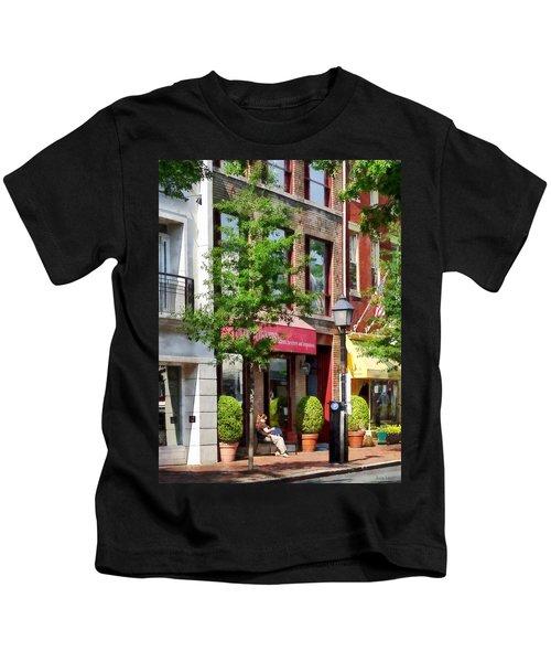 Alexandria Va - Sunny Morning Kids T-Shirt