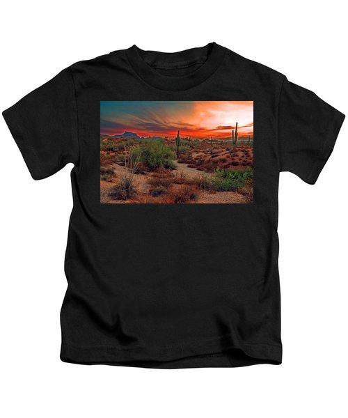 Sunrise Cocktail Kids T-Shirt