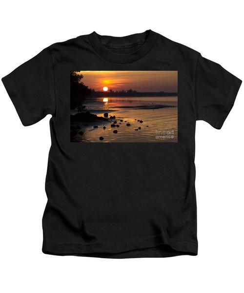 Sunrise Photograph Kids T-Shirt