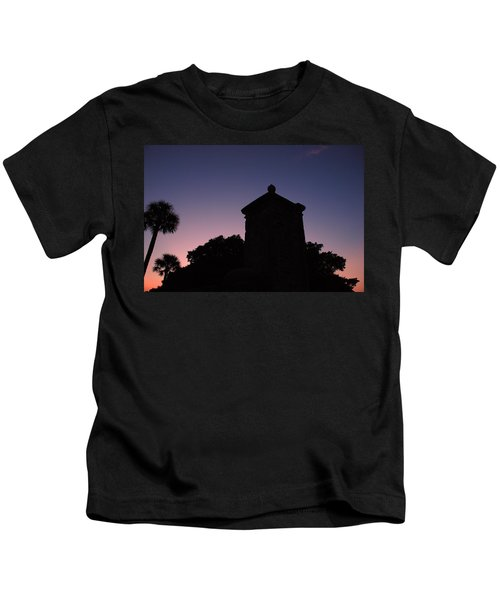 Sunset At The Gate Kids T-Shirt