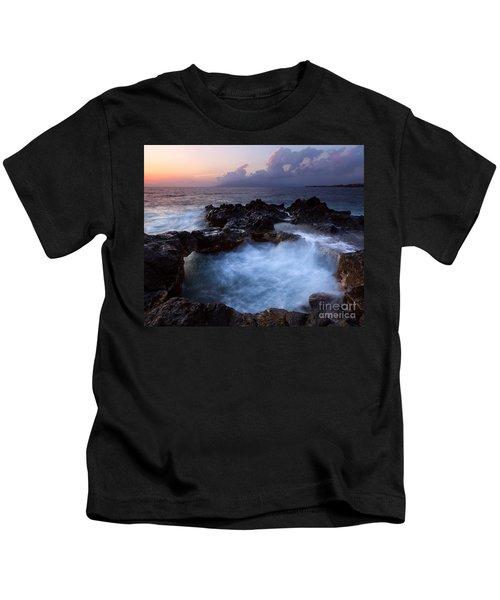 Sunset Churn Kids T-Shirt