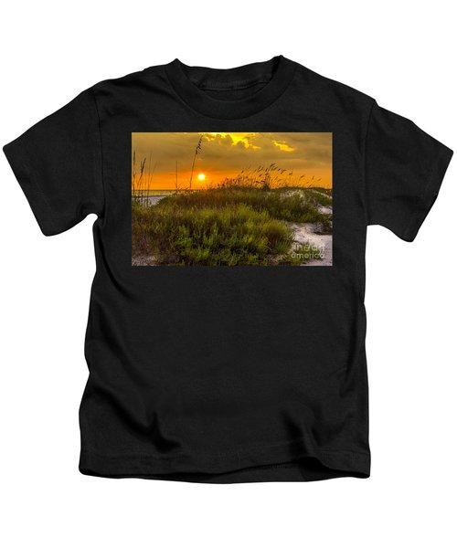 Sunset Dunes Kids T-Shirt