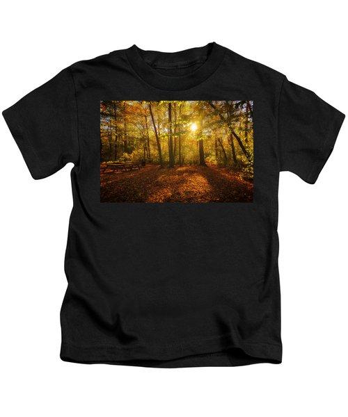 Sunset Forest Kids T-Shirt