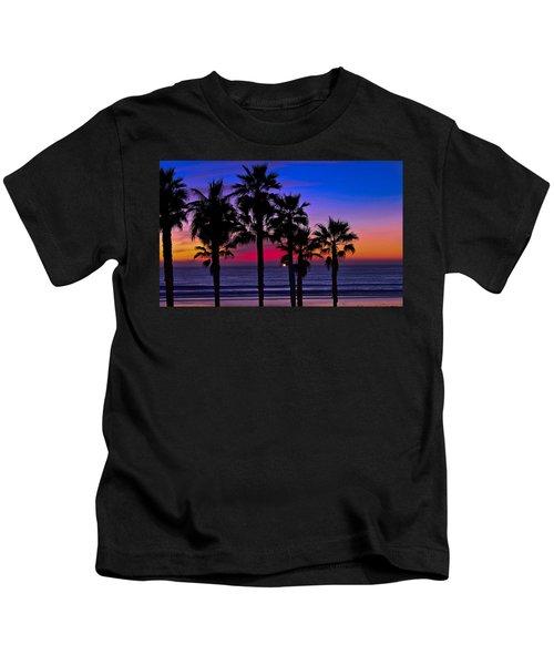 Sunset From The Ocean Park Inn Kids T-Shirt