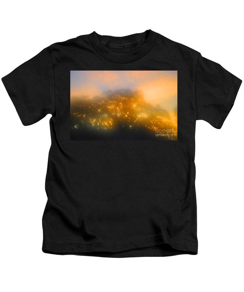 Sunset Mocks Sunrise Kids T-Shirt