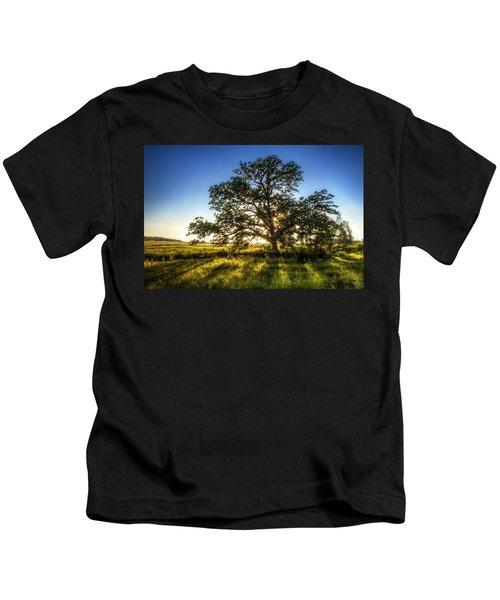 Sunset Oak Kids T-Shirt