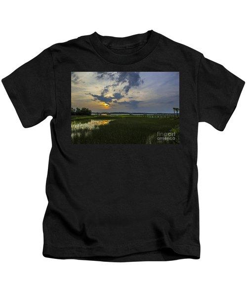 Sunset Over The Wando Kids T-Shirt