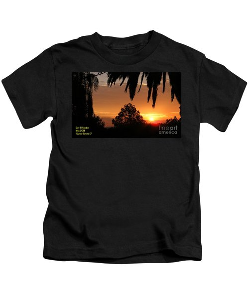 Sunset Sonata 5 H A Kids T-Shirt