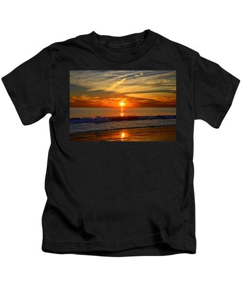 Sunset's Glow  Kids T-Shirt