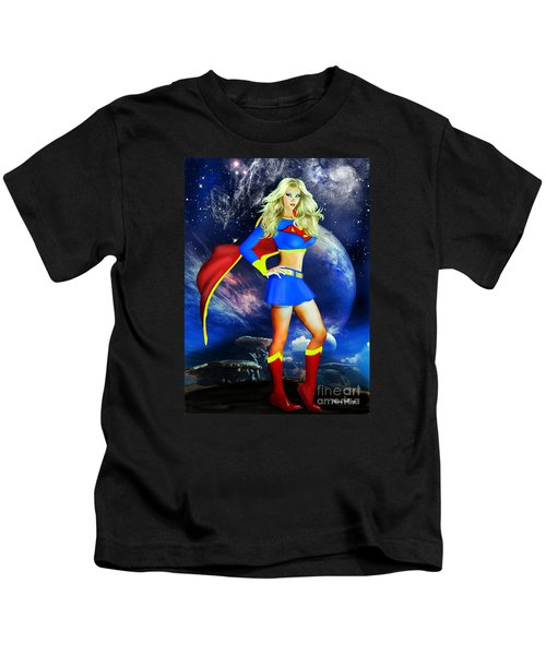 Supergirl Kids T-Shirt