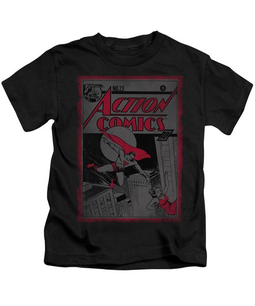 Superman - Action Comics 23 Kids T-Shirt