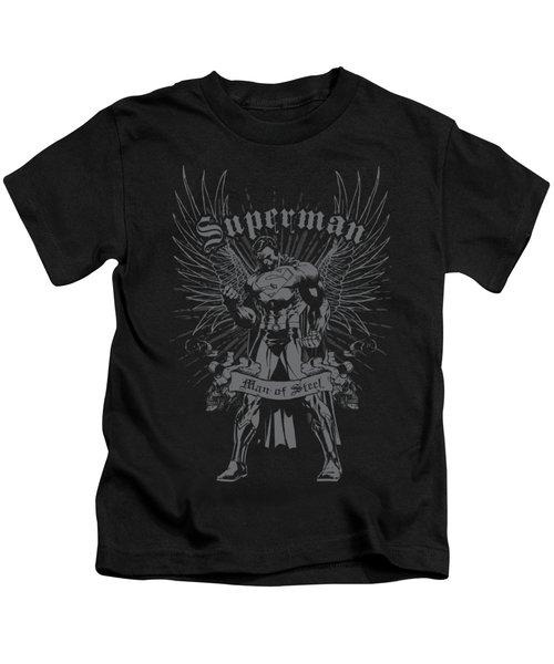 Superman - Steel Kids T-Shirt