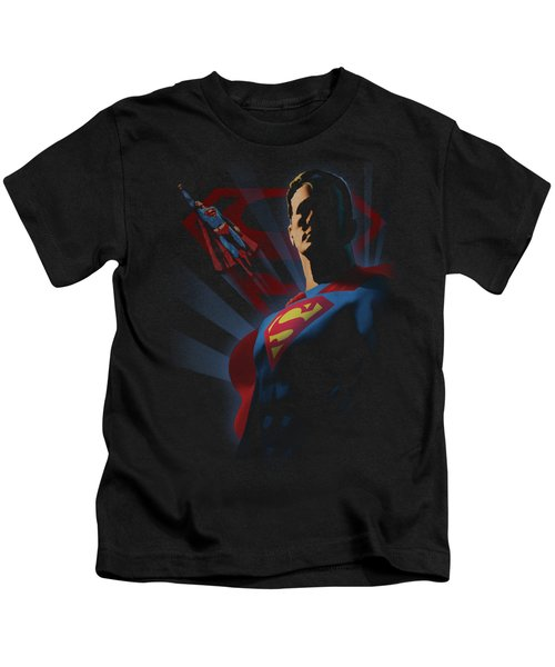 Superman - Super Deco Kids T-Shirt by Brand A