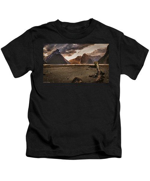 Surreal Milford Kids T-Shirt
