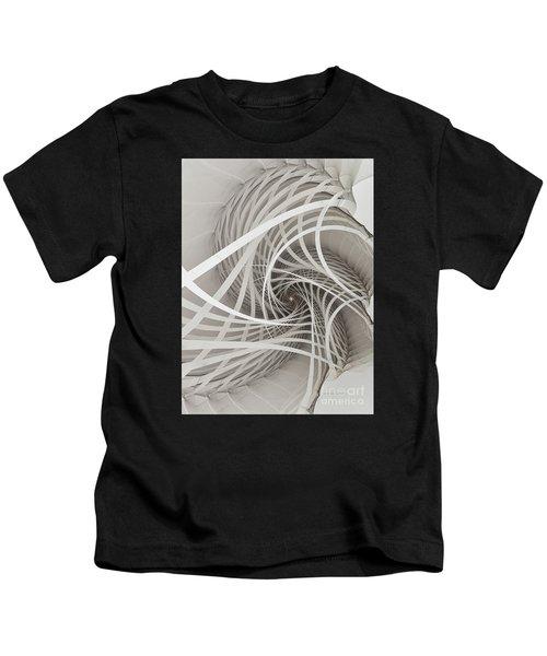 Suspension Bridge-fractal Art Kids T-Shirt
