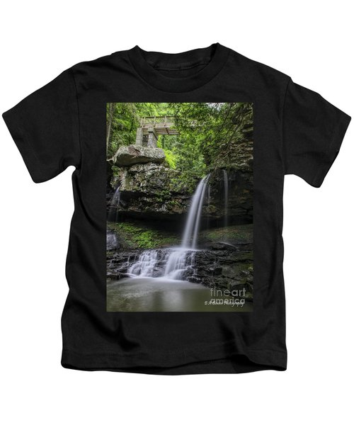 Suttons Gulch Waterfall Kids T-Shirt