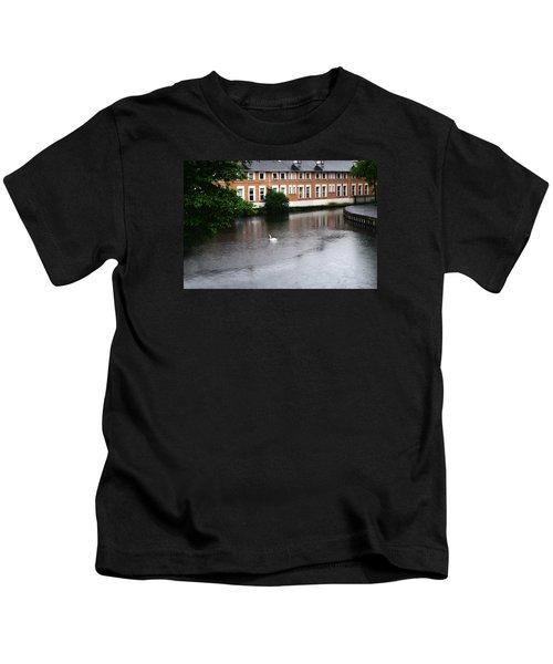 Swan In Dublin Kids T-Shirt