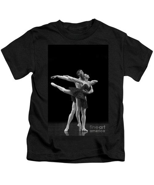 Swan Lake  Black Adagio  Russia  Kids T-Shirt