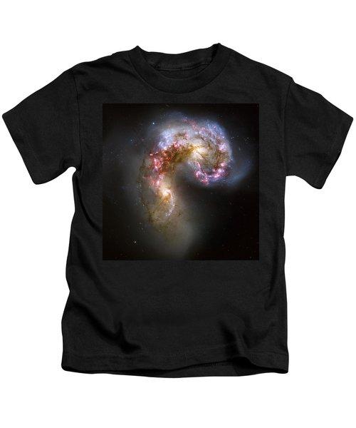 Tangled Galaxies Kids T-Shirt
