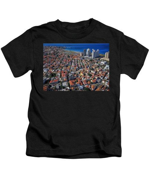 Tel Aviv - The First Neighboorhoods Kids T-Shirt