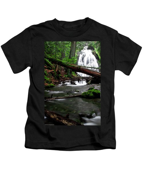 Temperate Old Growth Kids T-Shirt