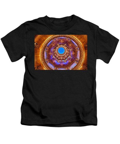 Temple Ceiling Kids T-Shirt